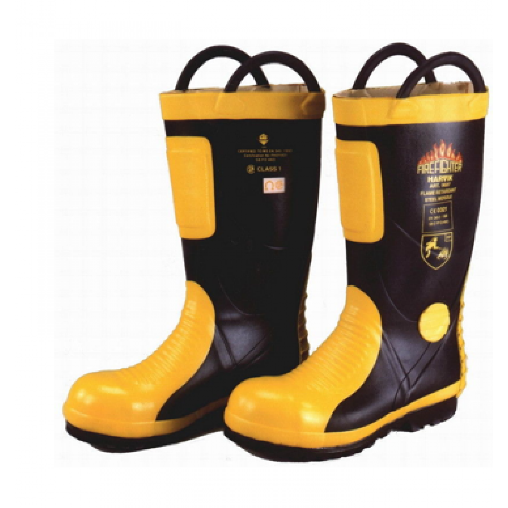 HARVIK 9687 fire fighting boots