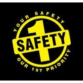 SAFETY BADGES STICKER 1